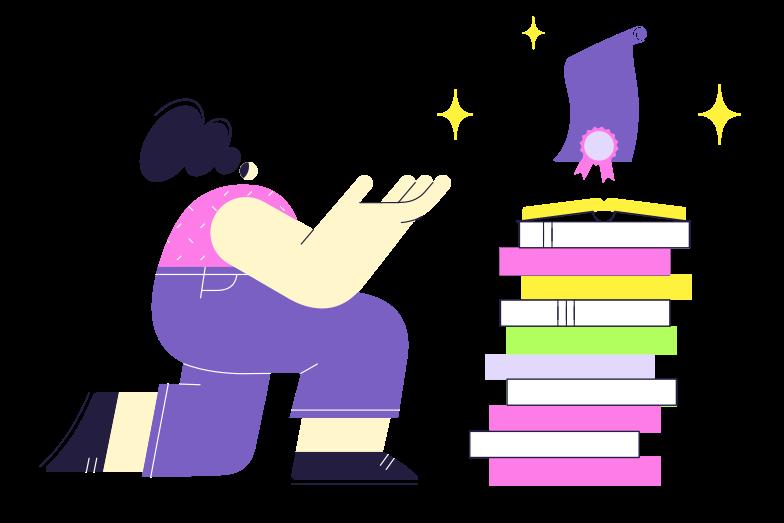 Education award Clipart illustration in PNG, SVG