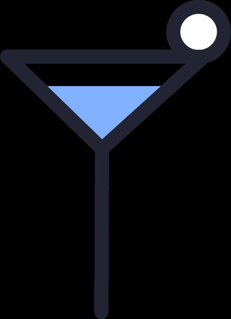 order completed  cocktail Clipart illustration in PNG, SVG