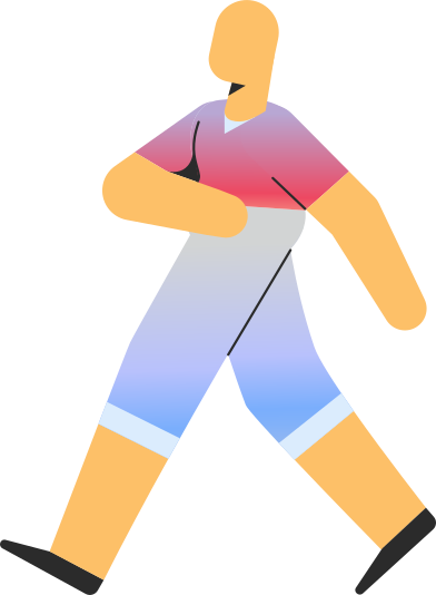 style adult in shorts walking images in PNG and SVG | Icons8 Illustrations