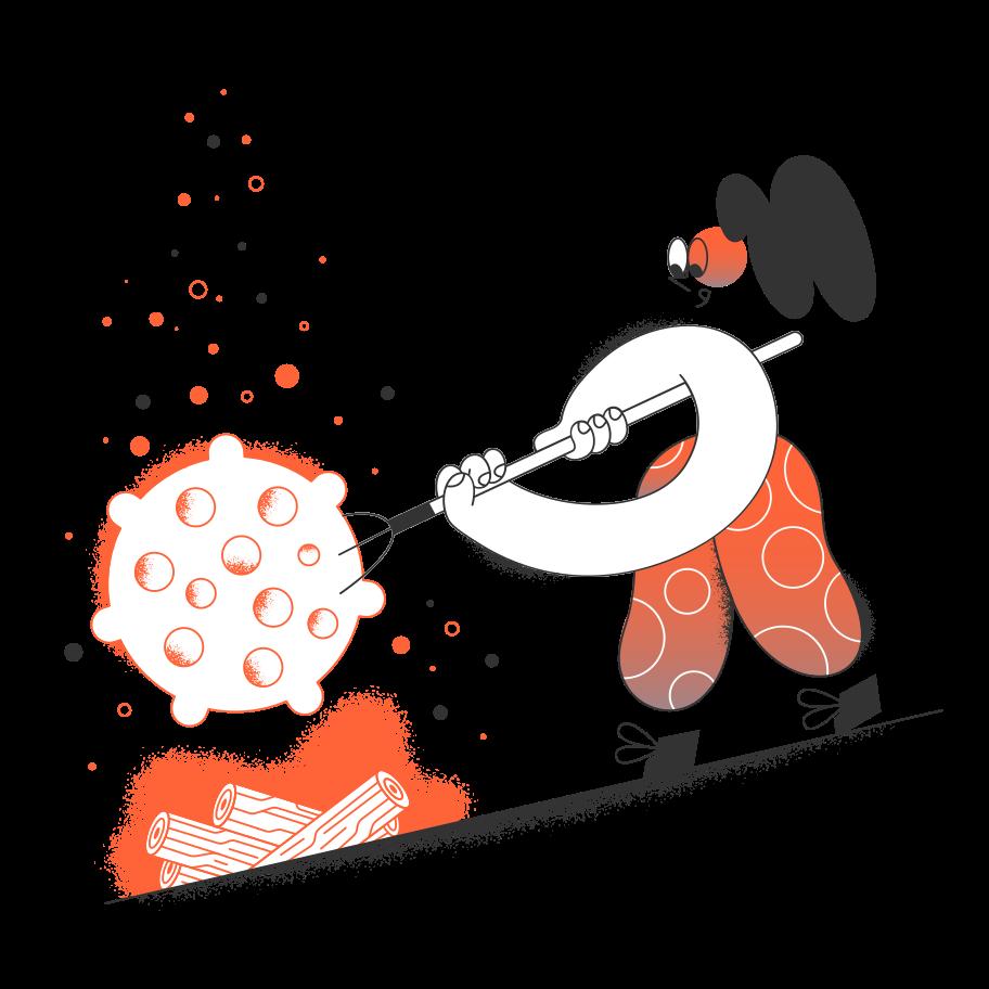 Ilustración de clipart de éxito en PNG, SVG