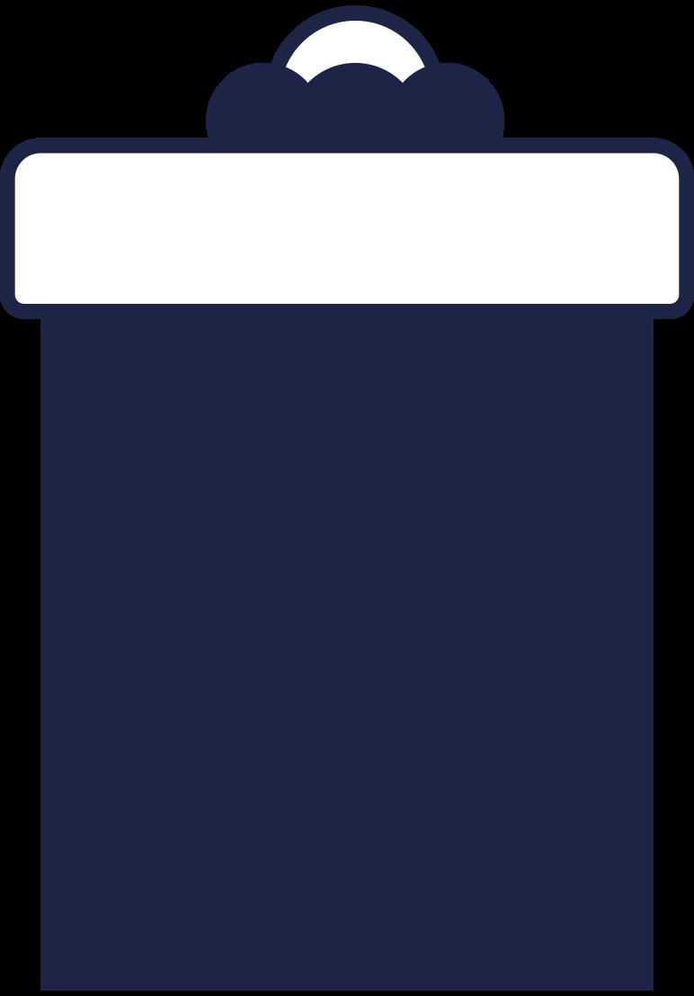 present 3 line Clipart illustration in PNG, SVG