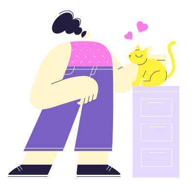 style Taking care of a pet images in PNG and SVG | Icons8 Illustrations
