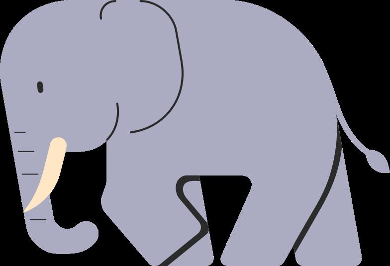 elephant Clipart illustration in PNG, SVG