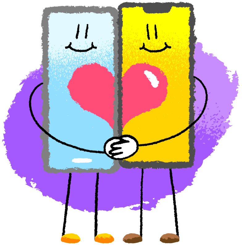 Romantic relationships Clipart illustration in PNG, SVG