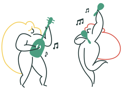style Playing music images in PNG and SVG | Icons8 Illustrations