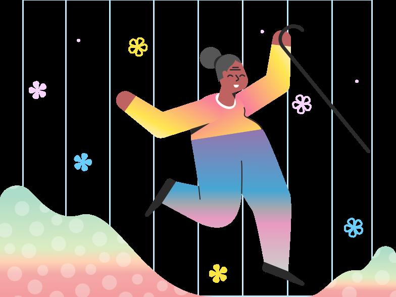Spring awakening Clipart illustration in PNG, SVG