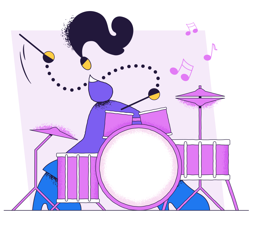 style Drummer Vector images in PNG and SVG   Icons8 Illustrations