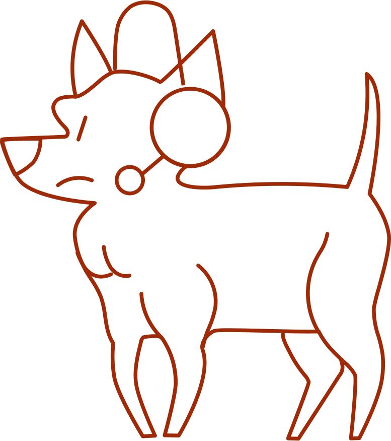 style i support dog Vector images in PNG and SVG | Icons8 Illustrations
