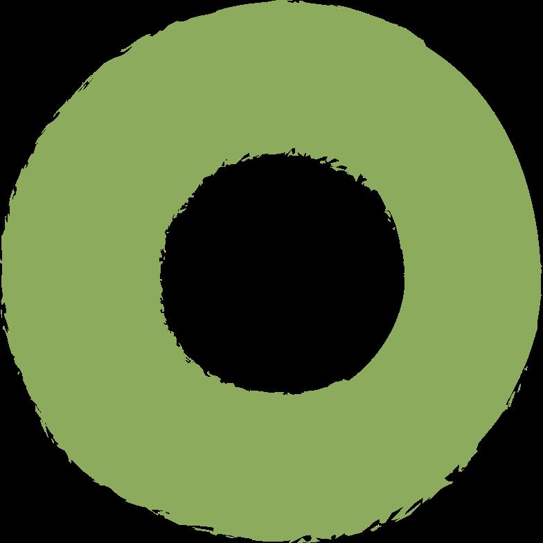 ring-dark-green Clipart illustration in PNG, SVG