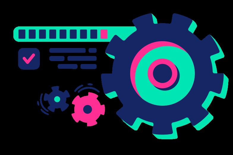 Work progress Clipart illustration in PNG, SVG