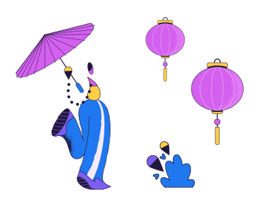style Chinese culture images in PNG and SVG | Icons8 Illustrations