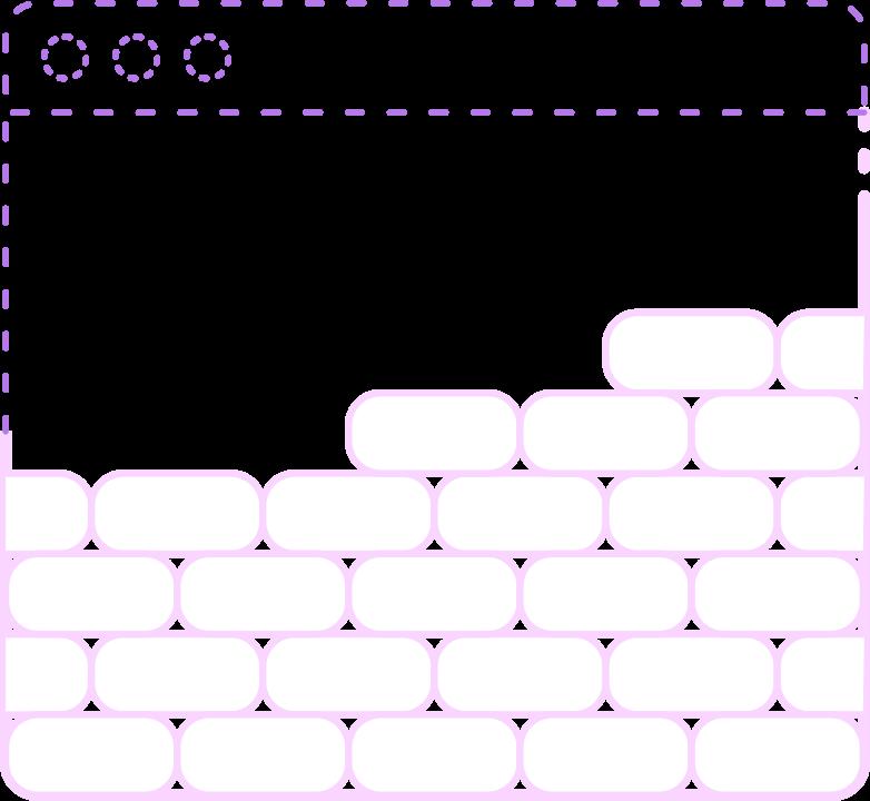 browser brick Clipart illustration in PNG, SVG