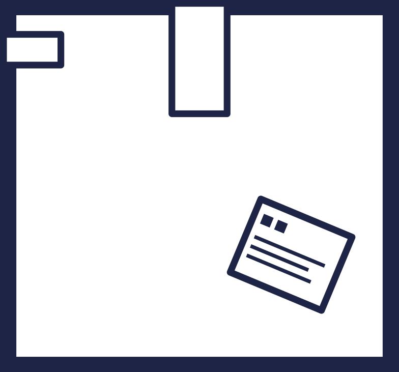 box 4 line Clipart illustration in PNG, SVG