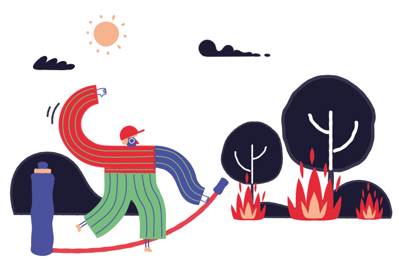 style Forest fires Vector images in PNG and SVG | Icons8 Illustrations