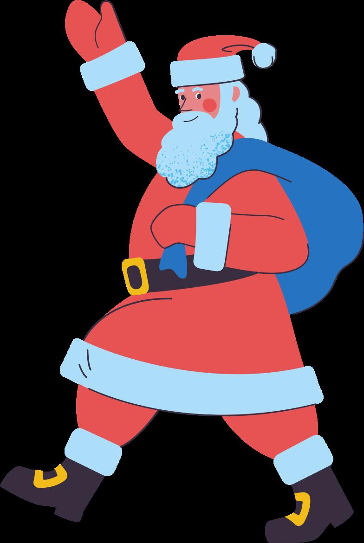 santa Clipart illustration in PNG, SVG