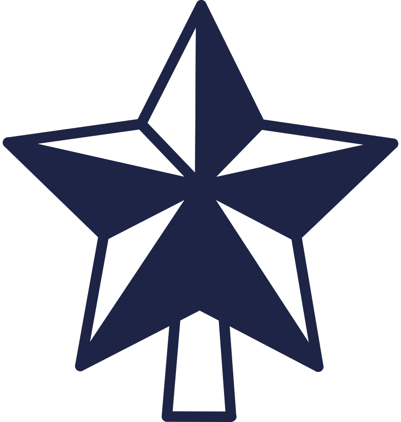 style new year tree star line Vector images in PNG and SVG | Icons8 Illustrations