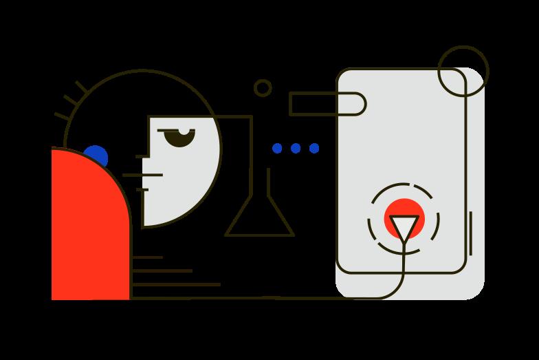 Online Learning Clipart illustration in PNG, SVG
