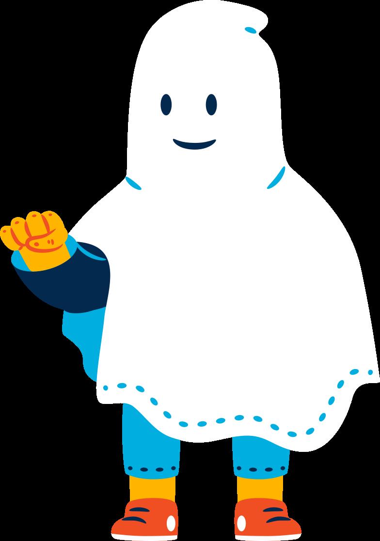 Иллюстрация Человек-призрак в стиле  в PNG и SVG | Icons8 Иллюстрации