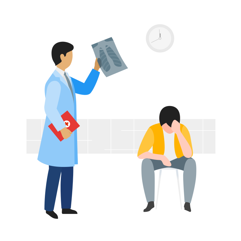 Doctor appointment Clipart illustration in PNG, SVG