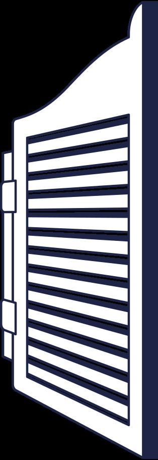 sign in  saloon door line Clipart illustration in PNG, SVG