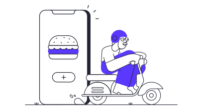 style Food app delivery images in PNG and SVG | Icons8 Illustrations