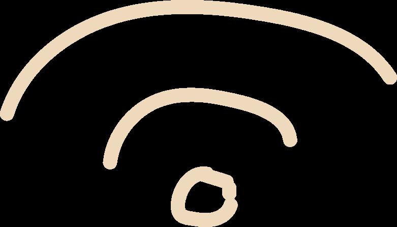 tk wifi Clipart illustration in PNG, SVG