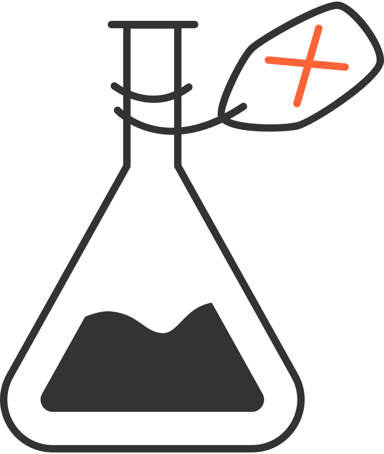 flask laboratory Clipart illustration in PNG, SVG