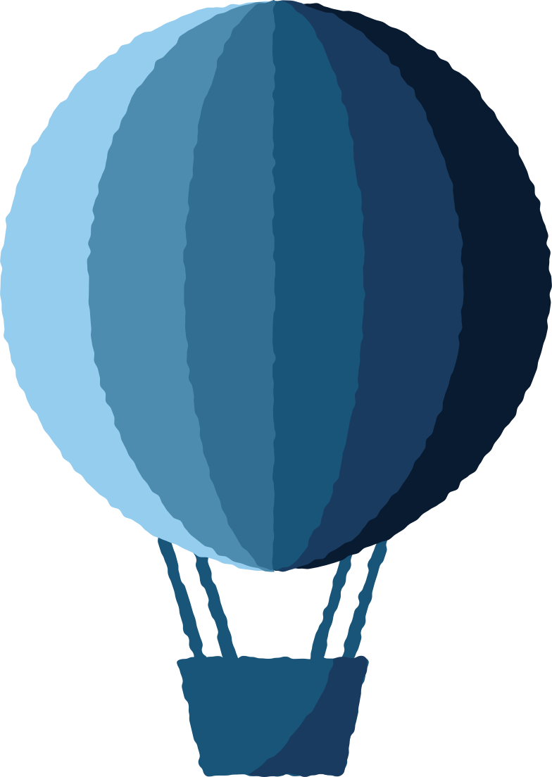 PNGとSVGの  スタイルの 熱気球 ベクターイメージ | Icons8 イラスト