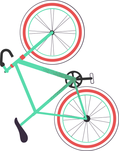 style bicycle images in PNG and SVG | Icons8 Illustrations