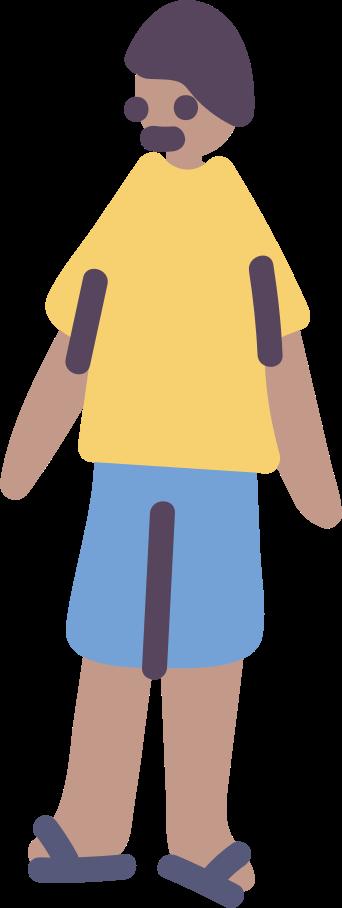 Junge Clipart-Grafik als PNG, SVG