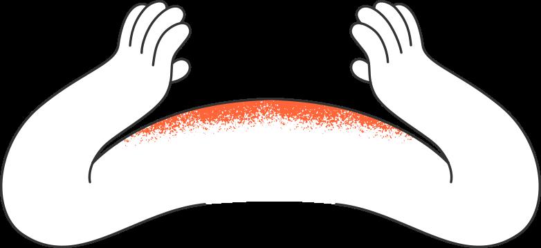 hands Clipart illustration in PNG, SVG