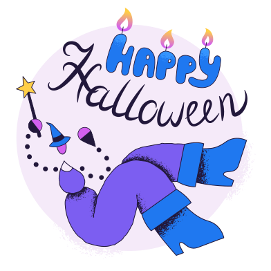 style Happy Halloween images in PNG and SVG | Icons8 Illustrations