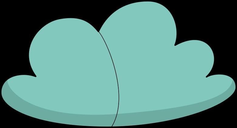 cloud Clipart illustration in PNG, SVG