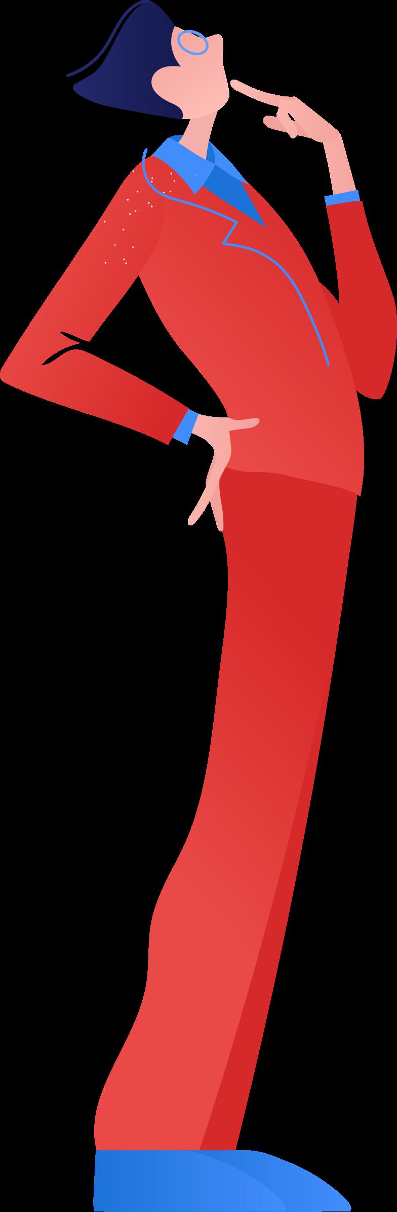 Ilustración de clipart de man in a suit en PNG, SVG
