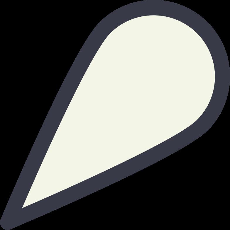 petal Clipart illustration in PNG, SVG