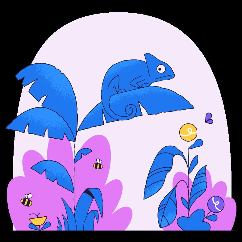 Jungle Clipart illustration in PNG, SVG