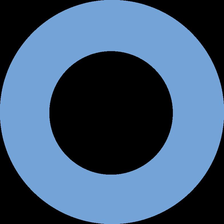 ring  blue Clipart illustration in PNG, SVG