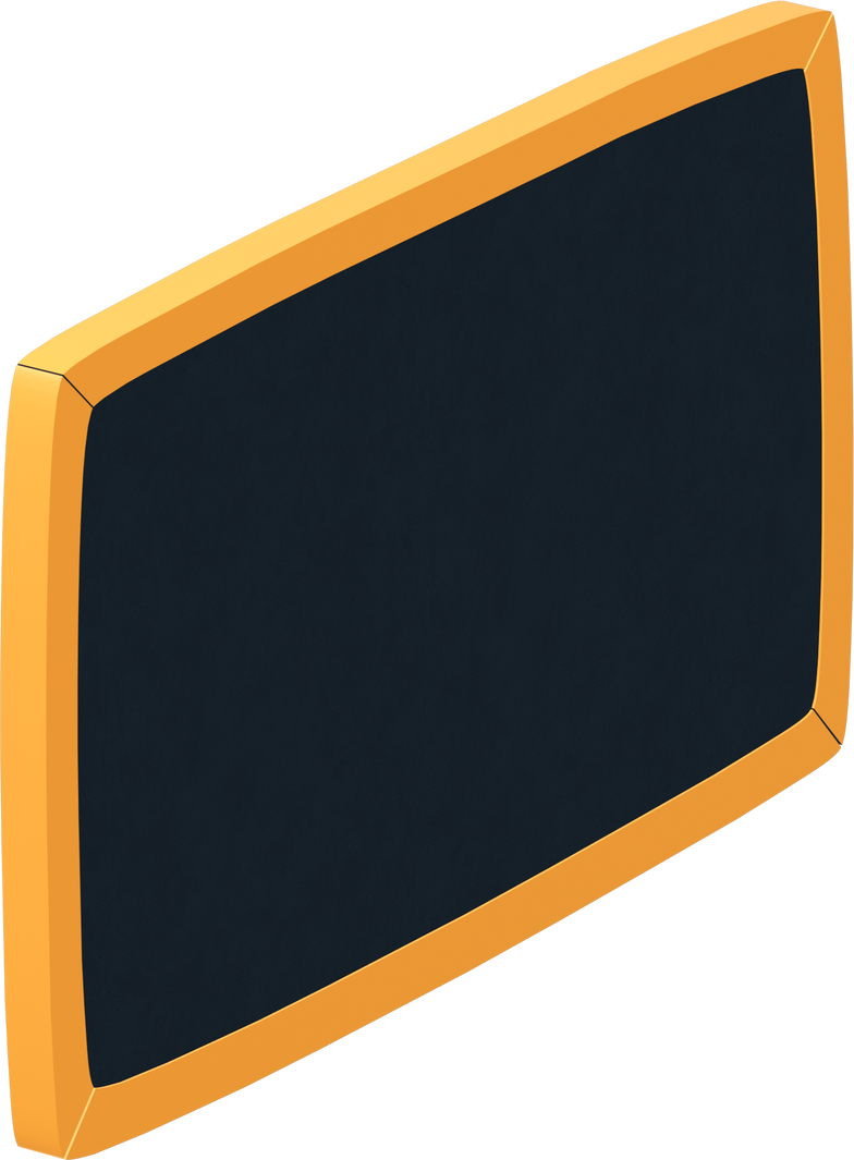 class board yellow Clipart illustration in PNG, SVG