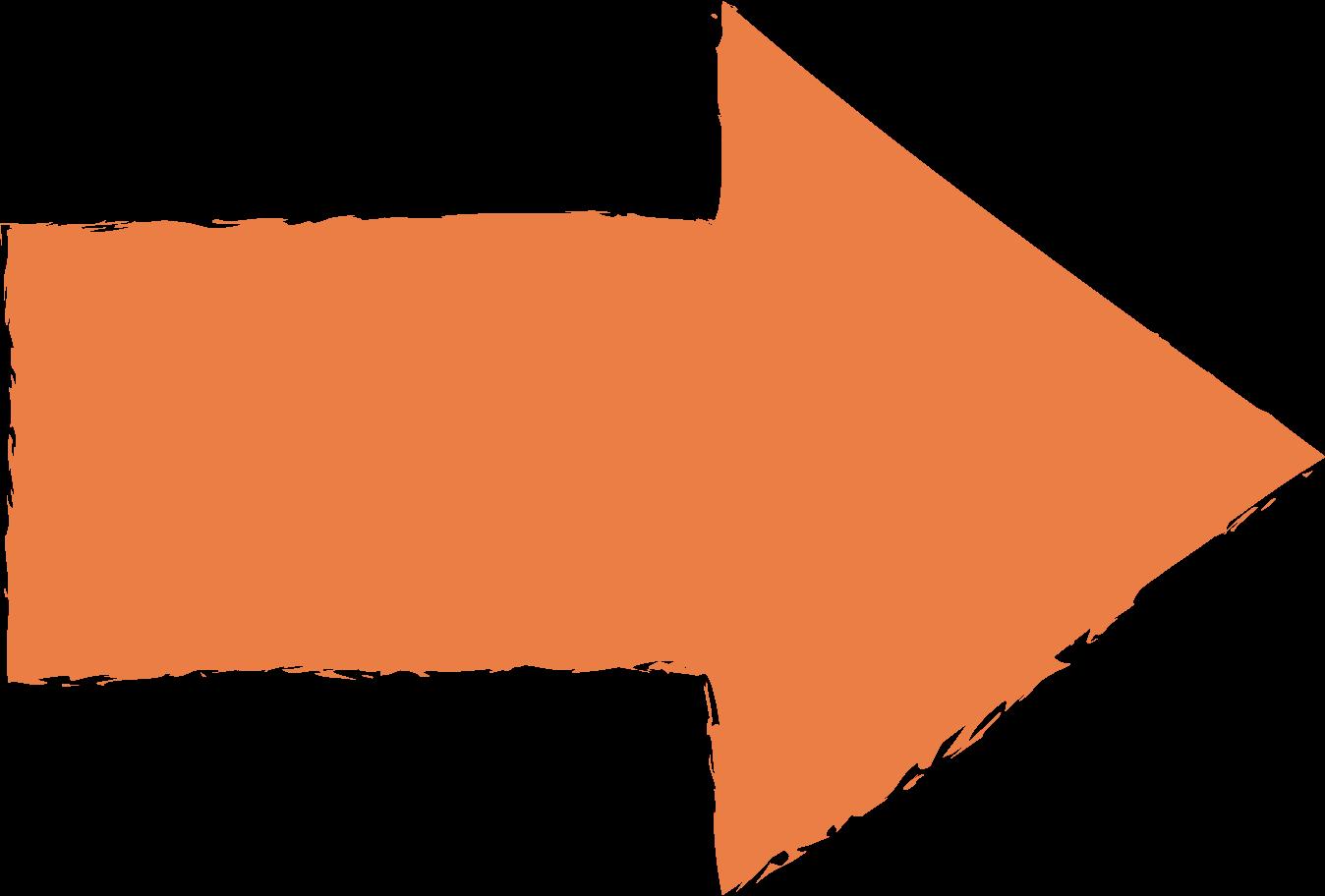 arrow-orange Clipart illustration in PNG, SVG