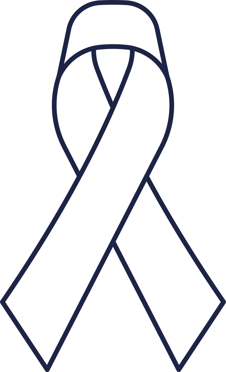 pink ribbon Clipart illustration in PNG, SVG
