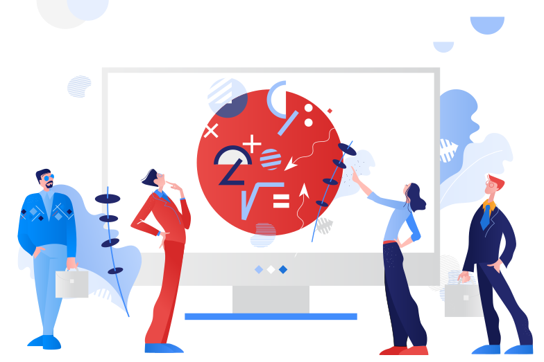 Problem solving Clipart illustration in PNG, SVG