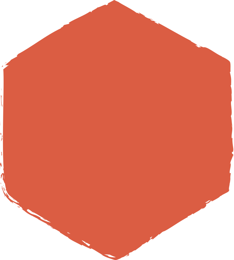 hexadon-red Clipart illustration in PNG, SVG
