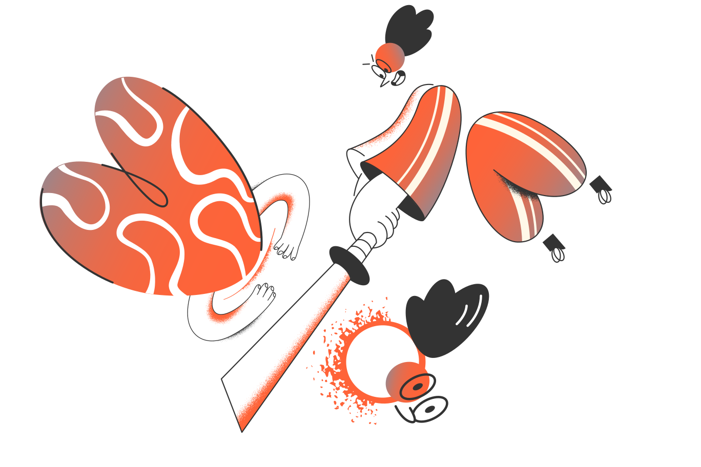 Behead Clipart illustration in PNG, SVG