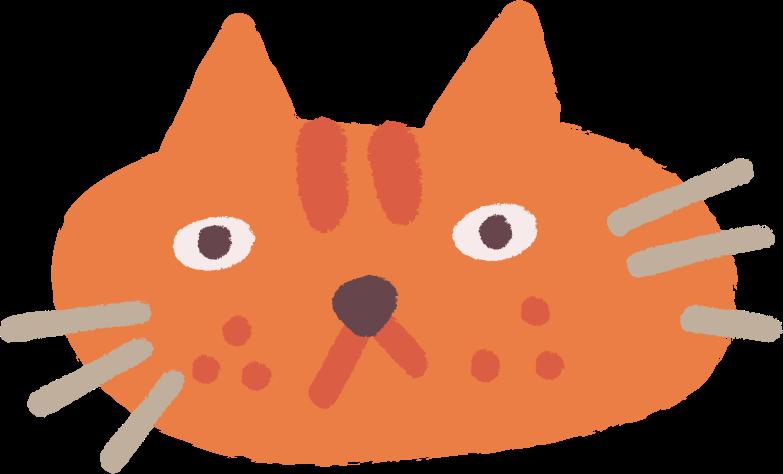 cat head Clipart-Grafik als PNG, SVG