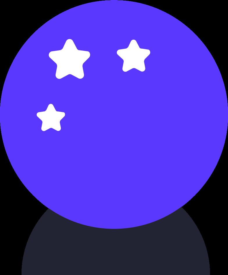 Vektorgrafik im  Stil magischer ball als PNG und SVG | Icons8 Grafiken