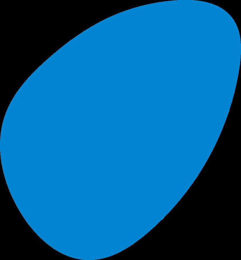 Ilustración de clipart de Azul abstracto en PNG, SVG