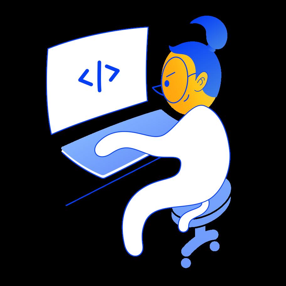 Ilustración de clipart de Gran codigo en PNG, SVG