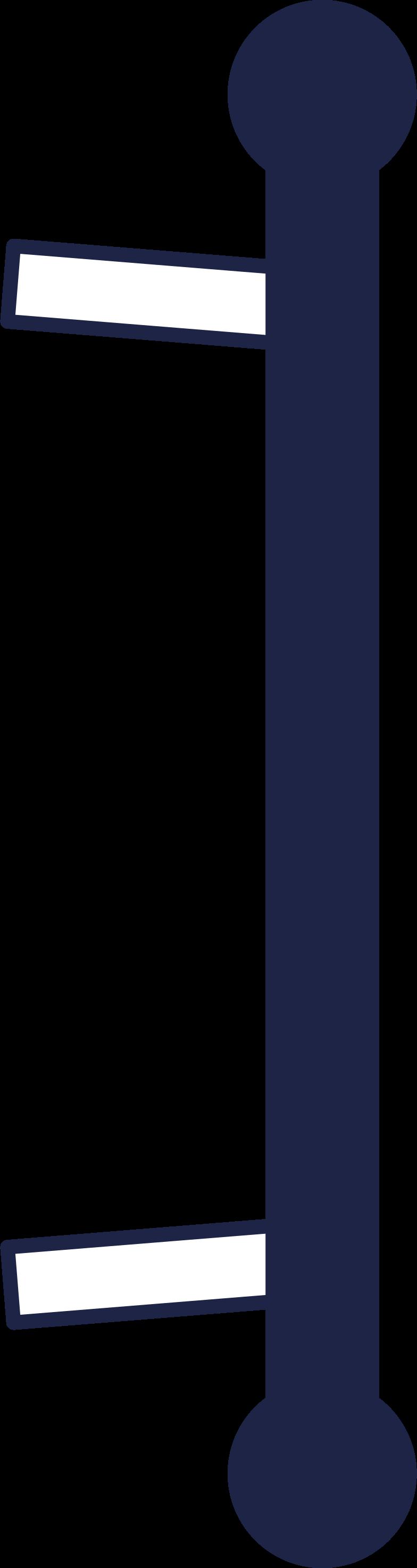 door handle 2 line Clipart illustration in PNG, SVG