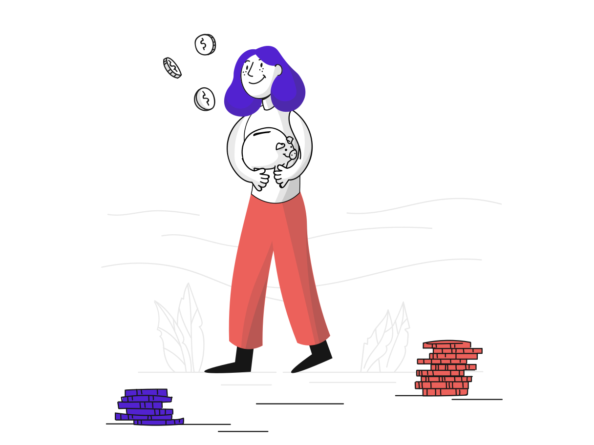 Save money Clipart illustration in PNG, SVG