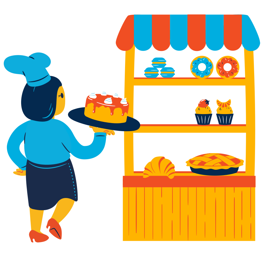 style Bakery Vector images in PNG and SVG | Icons8 Illustrations